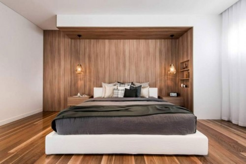...  slaapkamer met geheime deur naar inloopkast  Slaapkamer ideeën