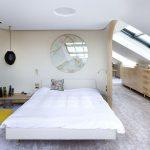 Luxe open slaapkamer door A1 Architecten