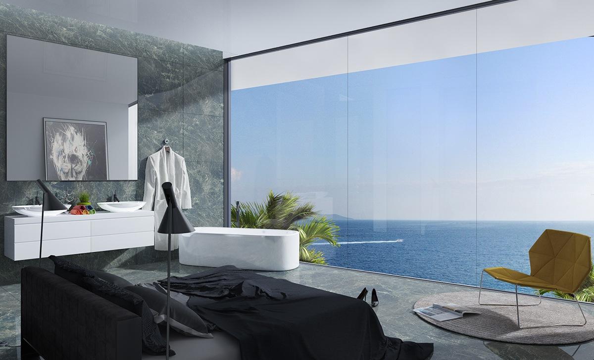 http://www.slaapkamer-ideeen.nl/wp-content/uploads/luxe-slaapkamer-met-groene-marmeren-vloer-en-muur.jpg