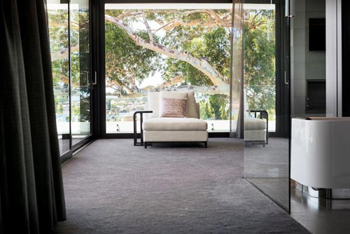 Luxe slaapkamer ontwerp