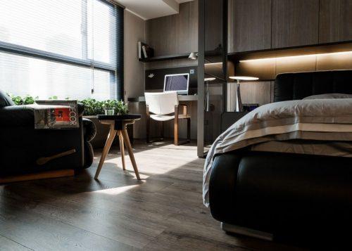 Luxe vintage slaapkamer