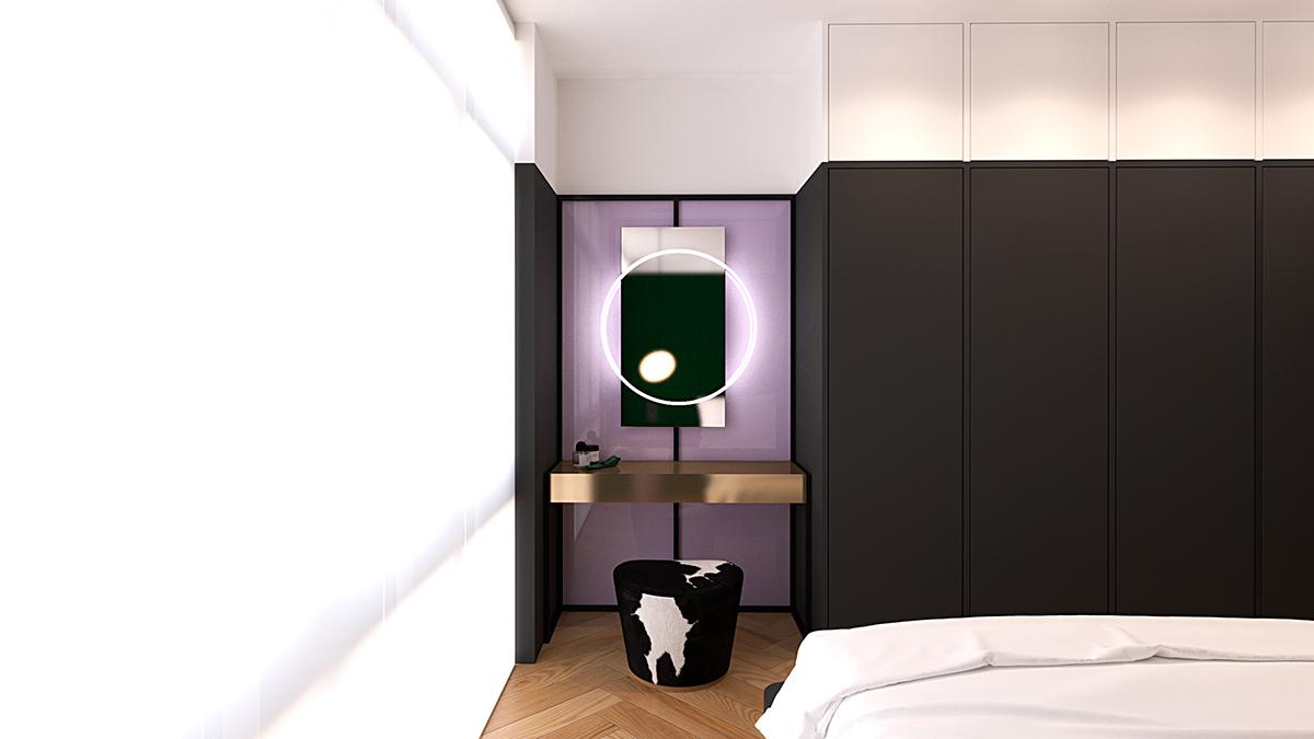 Maatwerk design slaapkamer ontwerp