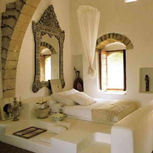 Marokkaanse slaapkamer slaapkamer idee n - Decoratie bed ...