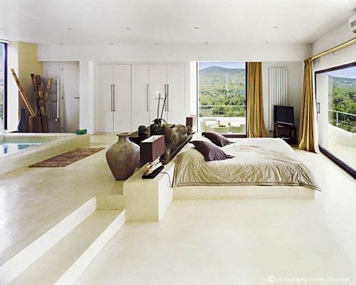 Mediterrane slaapkamer in Ibiza | Slaapkamer ideeën
