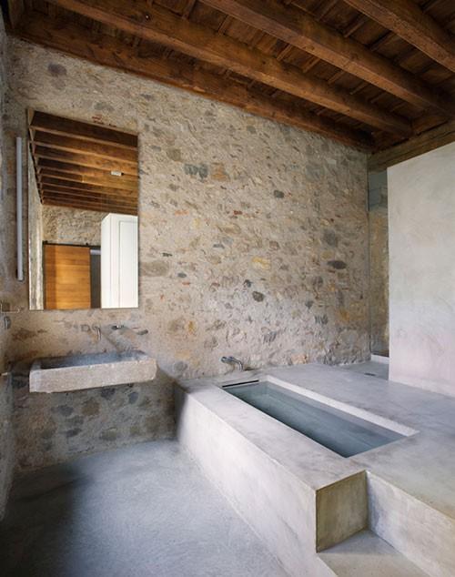 Middeleeuwse moderne slaapkamer