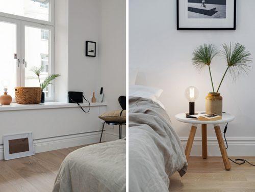 Warme Slaapkamer Ideeen : Minimalistische slaapkamer met warme tinten slaapkamer ideeën