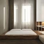 Modern slaapkamer ontwerp van architect Igor Sirotov