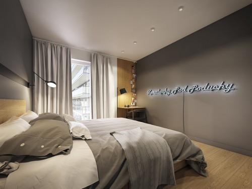 Grijze Slaapkamer Meubels : Grijze slaapkamer muur u artsmedia