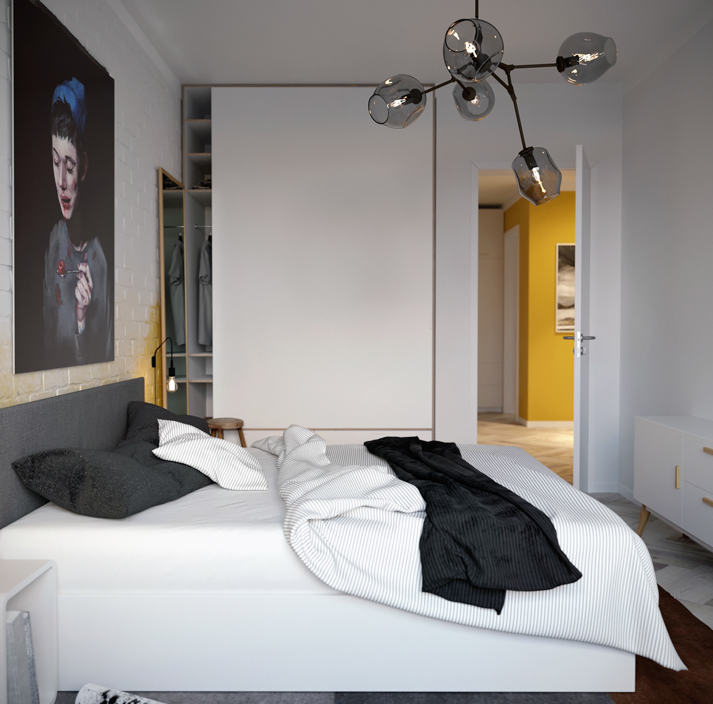 moderne-loft-slaapkamer-ontwerp-2