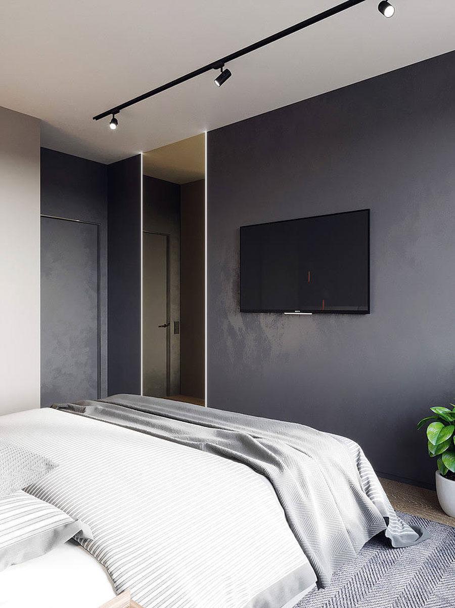 Moderne luxe slaapkamer met door Bellas Artes
