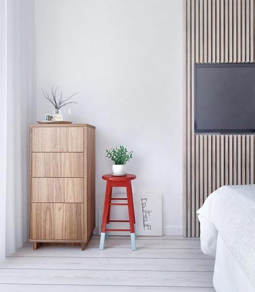Moderne Slaapkamer Kleuren : Moderne slaapkamer kleuren : Moderne slaapkamer met blauw als