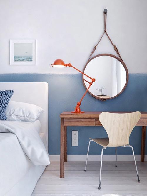 Slaapkamer Ideeen Blauw : Moderne slaapkamer met blauw als hoofdkleur ...