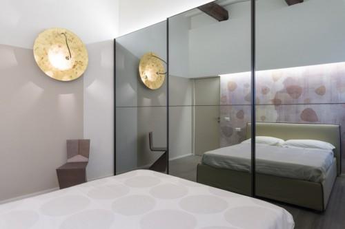 Moderne slaapkamer met rustieke houten balken slaapkamer ideeën