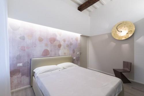 Moderne slaapkamer slaapkamer idee n - Slaapkamer met zichtbare balken ...