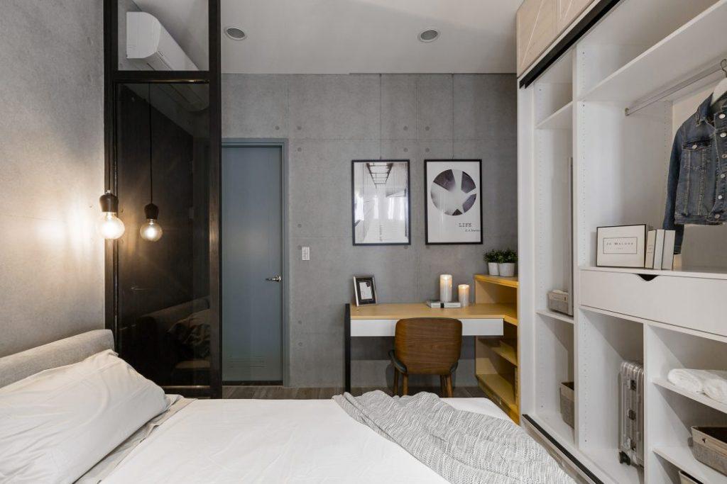 Stoere Industriele Loft : Moderne stoere slaapkamer van industrieel loft appartement uit