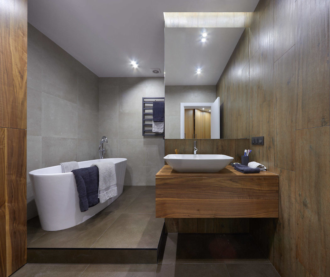 Moderne warme slaapkamer door architect Mikhail