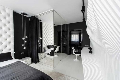 Zwarte Gordijnen Slaapkamer: Slaapkamer aan het inrichten met een ...