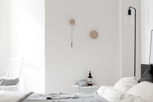 Nieuwe Slaapkamer Ideeen : Monochrome slaapkamer van Coco Lapine ...