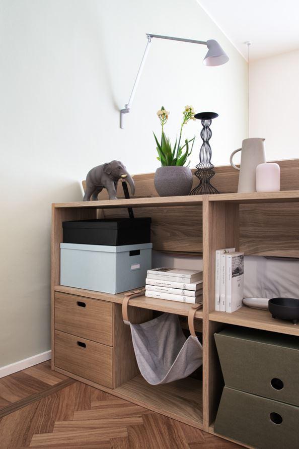 Mooi slaapkamer in modern appartement uit Milaan