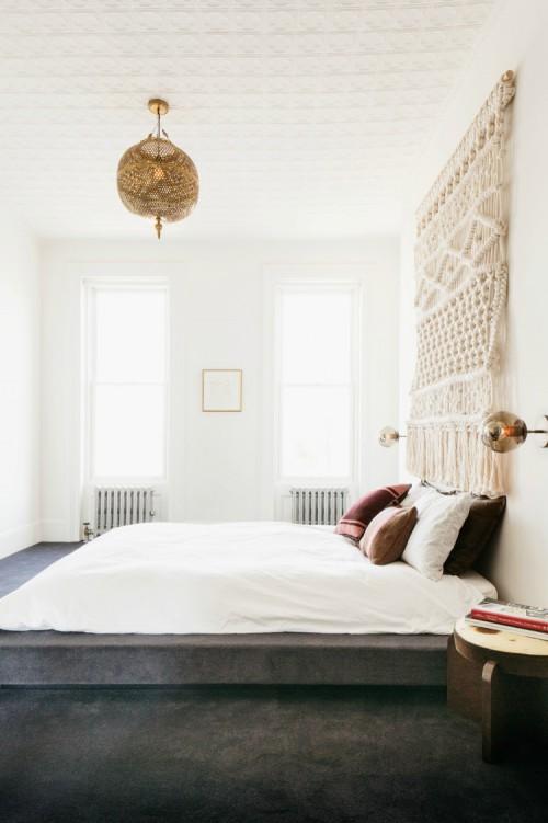 Mooi tapijt in de slaapkamer  Slaapkamer ideeën