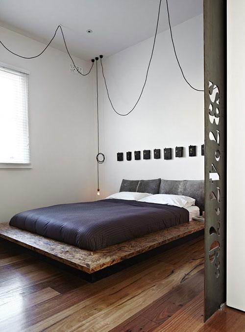 Mooie hanglamp slaapkamer