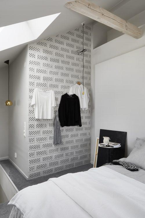 Mooie maisonnette slaapkamer