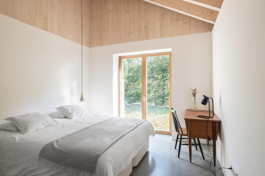 Kleine Minimalistische Slaapkamer : Mooie minimalistische slaapkamer van villa slow slaapkamer ideeën