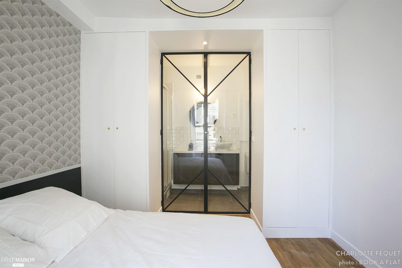 Mooie slaapkamer geinspireerd door boetiekhotel uit Parijs