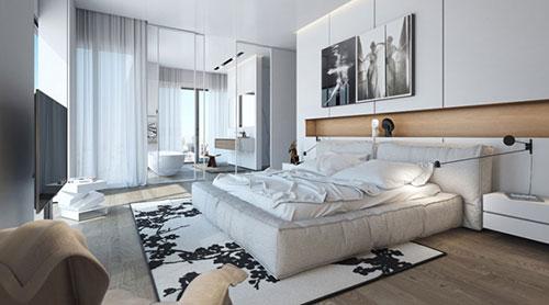 Mooie slaapkamer ideeën van Ando Studio | Slaapkamer ideeën