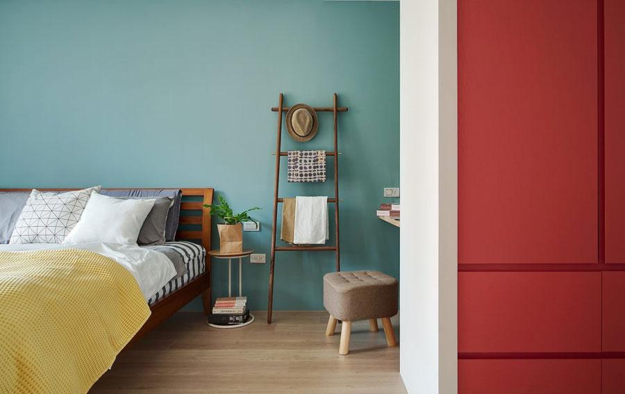 mooie slaapkamer met vrolijke kleuren slaapkamer idee235n