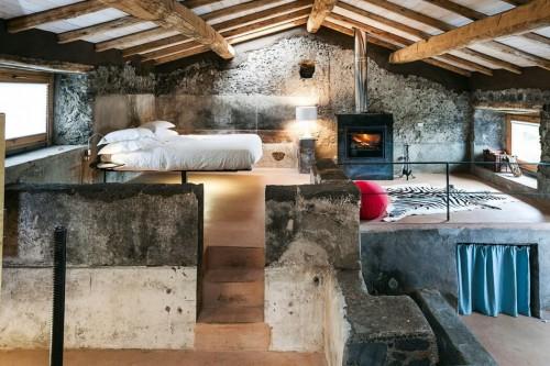 Natuurlijke Slaapkamer : Natuurlijke slaapkamer van boetiekhotel ...