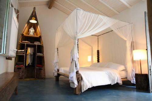 Natuurlijke slaapkamer in Bahia