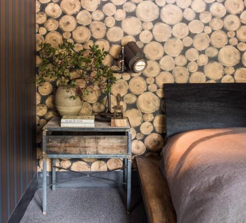 Natuurlijke slaapkamers van wintersport villa  Slaapkamer ideeën
