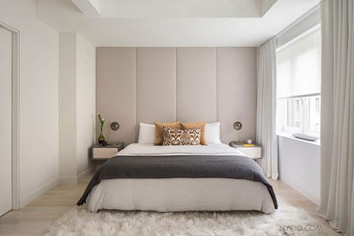 slaapkamer met lichte zachte kleuren en mooi design | slaapkamer, Deco ideeën