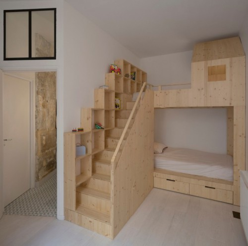 Kinderkamer slaapkamer idee n - Stapelbed kleine kamer ...