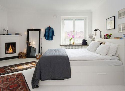 Open haard in de slaapkamer  Slaapkamer ideeën