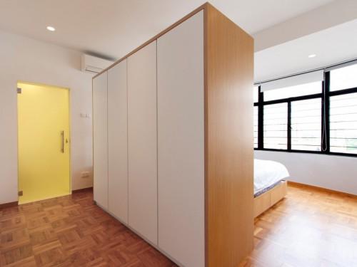Inloopkast Met Gordijnen : Open inloopkast en roomdevider slaapkamer ideeën