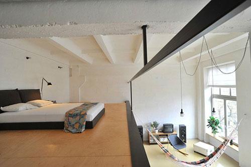 Open loft slaapkamer slaapkamer idee n - Mezzanine woonkamer ...
