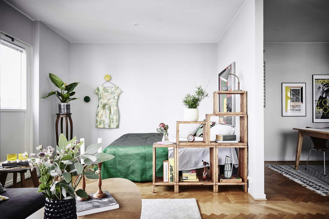 Scheidingswand Voor Slaapkamer : Open vakkenkast als scheidingswand tussen slaapkamer en woonkamer