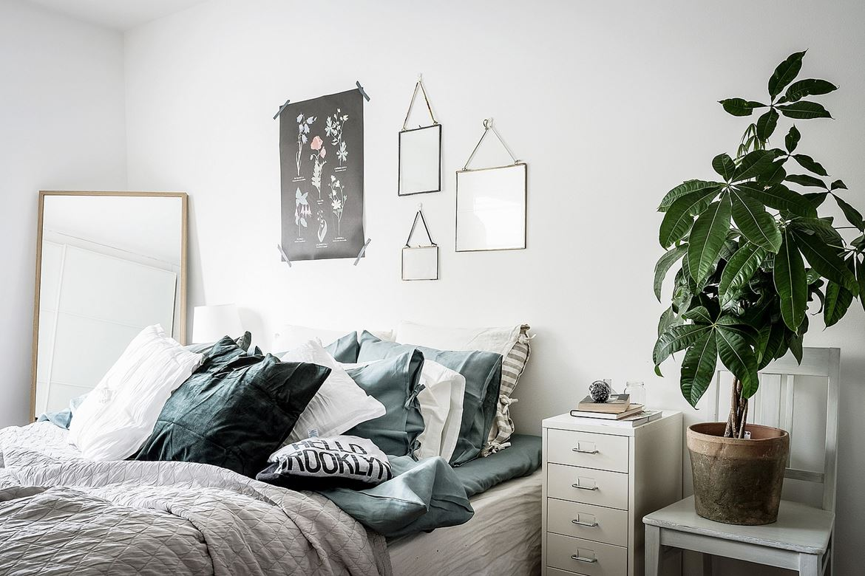 Persoonlijke slaapkamer met leuke decoratie