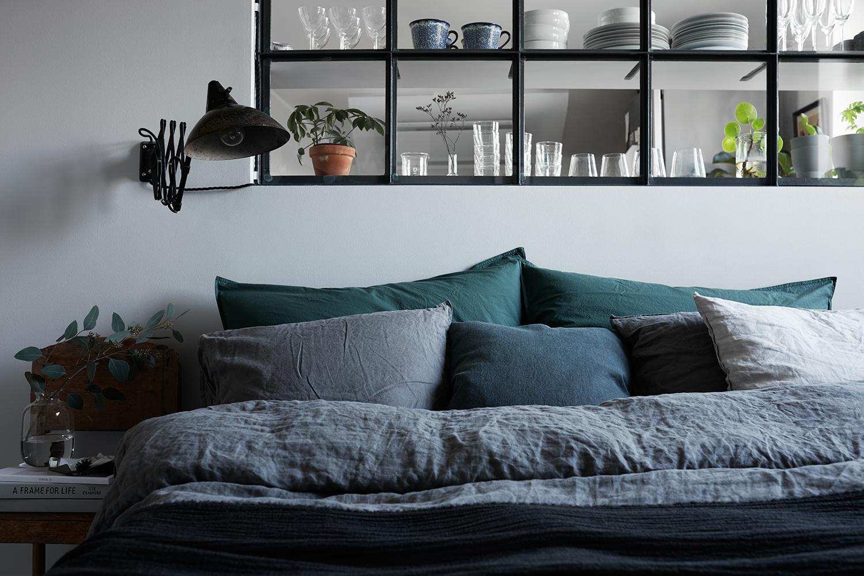 Raam tussen slaapkamer en keuken