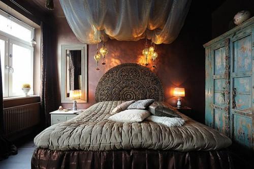romantische donkere slaapkamer uit stockholm | slaapkamer ideeën, Deco ideeën