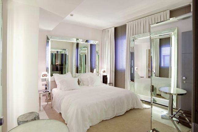 Romantische slaapkamer in Venetië