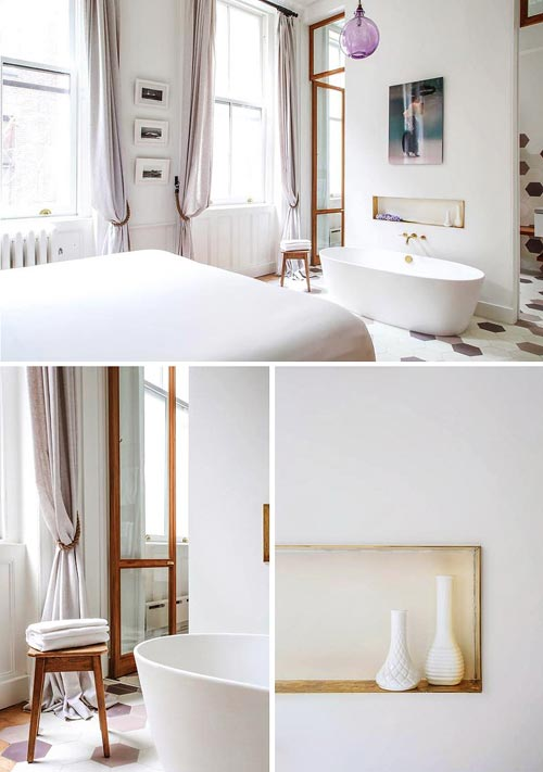 Slaapkamer Met Bad : Pin Slaapkamer Idee? «n Met Bad on Pinterest