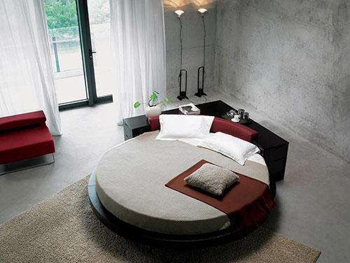 Ronde bedden