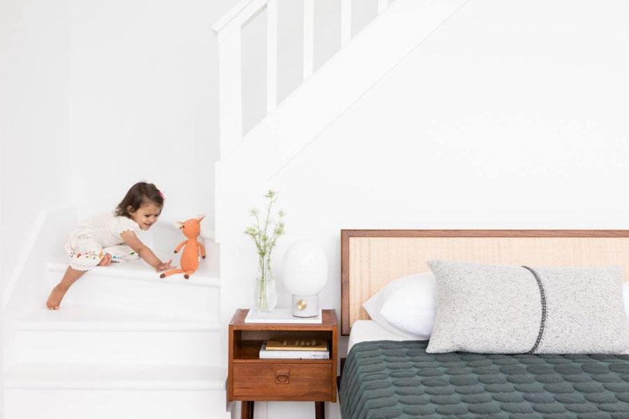 Ruime slaapkamer suite met panoramisch uitzicht!