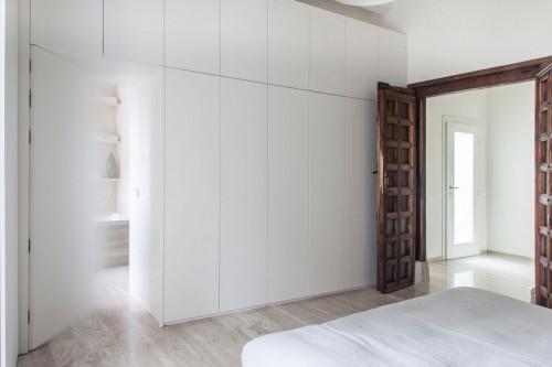 Rustieke houten openslaande deuren  Slaapkamer ideeën