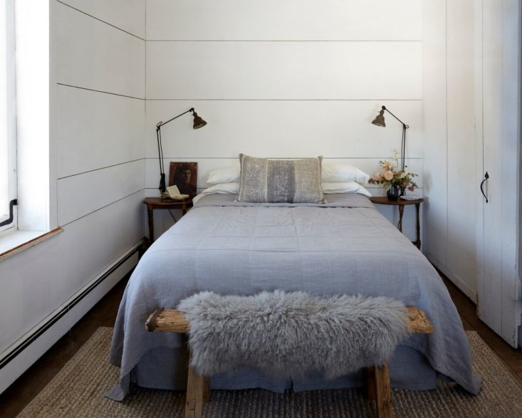 Rustieke landelijke slaapkamer van Caroline en Jeffrey
