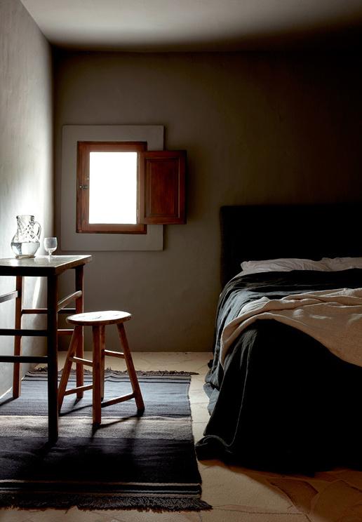 Rustieke landelijke slaapkamers uit Ibiza | Slaapkamer ideeën