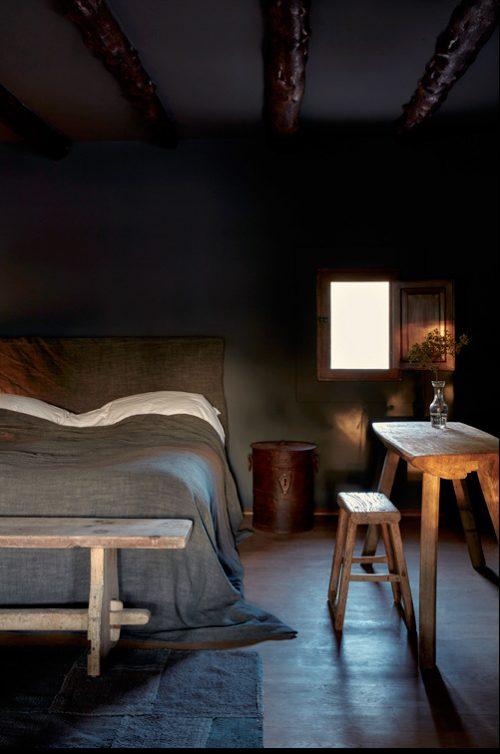 Rustieke landelijke slaapkamers uit Ibiza